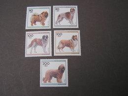 BRD  Hund  1996   **  MNH  Weit Unter Postpreis  1836-1840  €  10,00 - [7] République Fédérale