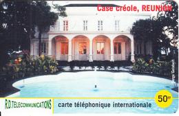REUNION - Case Creole 2, R.D. Telecom Prepaid Card 50 FF, Tirage 2000, Used - Reunion