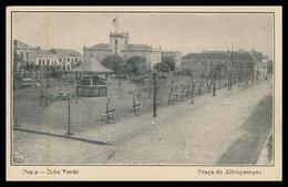 CABO VERDE - PRAIA - Praça Do Albuquerque.  Carte  Postale - Cape Verde