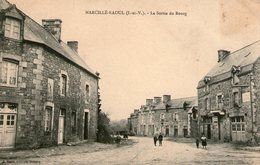 (75) CPA   Marcillé Raoul  Sortie Du Bourg  (Bon état) - Autres Communes