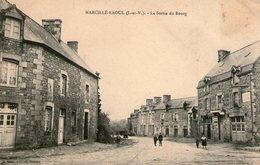 (75) CPA   Marcillé Raoul  Sortie Du Bourg  (Bon état) - Frankrijk