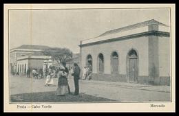 CABO VERDE - PRAIA - FEIRAS E MERCADOS - Mercado.  Carte  Postale - Cape Verde