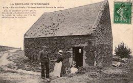 (75) CPA  Ile De Groix  Marchand De Bouses De Vaches  (Bon état) - Autres Communes