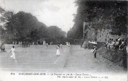 """CPA  - 62 - BOULOGNE-SUR-MER - Le Tournoi Au Jeu De """"Lawn-Tennis"""" - Boulogne Sur Mer"""