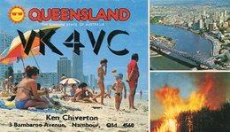 QSL CARD RADIOAFICIONADOS/RADIO HAM VK4VC QUEENSLAND AUSTRALIA YEAR 1978 - LILHU - Radio-amateur
