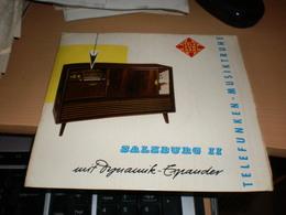 Telefunken Musiktruhe Salzburg II Mit Dynamik Expander - Vinyl-Schallplatten
