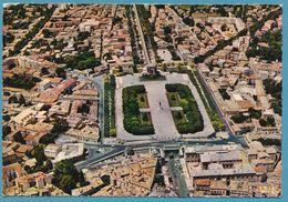 MONTPELLIER - La Promenade Du Peyrou - Vue Aérienne - 1965 - Montpellier