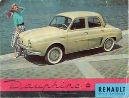 DOCUMENT COMMERCIAL *DEPLIANT RENAULT Dauphine - Cars