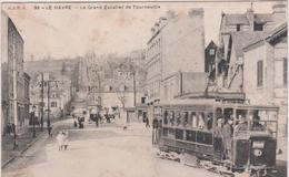 Seine Maritime  : LE  HAVRE  :  Le  Grand  Escalier De  Tourneville , Tramway - Le Havre