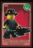 Carte à Collectionner Auchan Lego Crée Ton Monde Le Gangster 71 - Other Collections