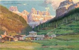 Canazei In Fassa - Artista Höger - Italia