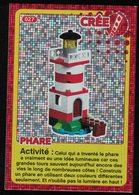 Carte à Collectionner Auchan Lego Crée Ton Monde Phare 27 - Other Collections