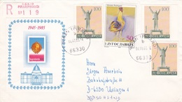 6 Briefe Aus Jugoslawien - 1945-1992 Sozialistische Föderative Republik Jugoslawien