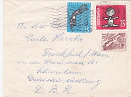 5 Briefe Aus Jugoslawien - 1945-1992 Sozialistische Föderative Republik Jugoslawien