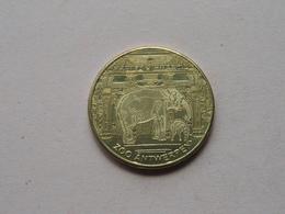 ZOO Antwerpen 2010 /  Belgian Heritage - National Tokens B () België / Goudkleur ! - Pièces écrasées (Elongated Coins)