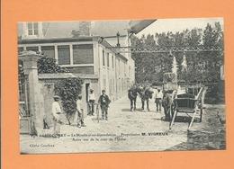CPA   -  Aguilcourt   - Le Moulin Et Ses Dépendances - Propriétaire, M.VIGREUX - Autre Vue De La Cour De L'Usine - France