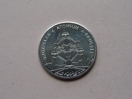 ATOMIUM Bruxelles - Brussel () België ! - Pièces écrasées (Elongated Coins)