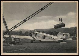 Germany Junkers G31 Airplane Early Advertising Card 81850 - Ansichtskarten