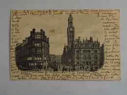 C.P.A. : BRADFORD Townhall, Stamp In 1904 - Bradford
