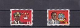 1984 - Angola MNH Series 95/96 5º Aniversário Da Investidura Do Presidente José Eduardo Dos Santos - Angola