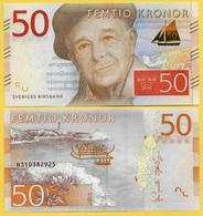 Sweden 50 Kronor P-70 2015 UNC - Suède