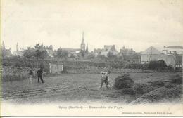 SPAY  (Sarthe) Ensemble Du Pays  (paysans) - France