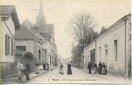 MAYET  Entrée Par La Route D'Ecommoy - Mayet