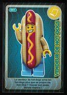 Carte à Collectionner Auchan Lego Crée Ton Monde Vendeur De Hot Dogs 41 - Other Collections