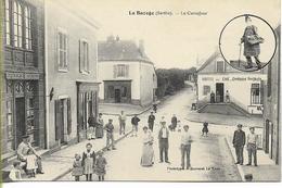 LA BAZOGE  (Sarthe) Le Carrefour (belle Animation) - Other Municipalities