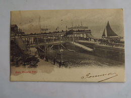 C.P.A. : HULL, Victoria Pier, Stamp In 1904 - Hull