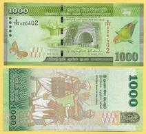 Sri Lanka 1000 Rupees P-127c 2015 UNC - Sri Lanka