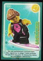 Carte à Collectionner Auchan Lego Crée Ton Monde La Surfeuse 26 - Other Collections