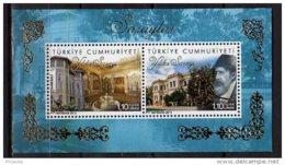 2013 Turkey -Famouse Turkish Palaces I - Yildis I Palace - MS - Paper - MNH**  MiNr. 4007 - 4008 (Block 96) - Nuevos