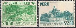 1953 - PERU' - AGRICOLTURA / FARMING - USATO / USED. - Peru