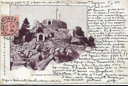 LE CALVAIRE DE FONT - ROMEN ( Pyr . Or ) - Autres Communes