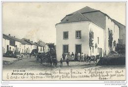 CHATILLON ..-- DVD 11333 . Bétail . Attelage . 1905 Vers ROMEDENNE ( Melle Hélène MAGNIETTE ) . Voir Verso . - Saint-Léger