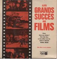45T. LES GRANDS SUCCES DE FILMS. Alamo - Aimez-vous Brahms ? - West Side Story - Le Train Sifflera Trois Fois - Jamais L - Soundtracks, Film Music