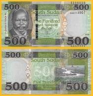 South Sudan 500 Pounds P-new 2018 UNC - Soudan Du Sud