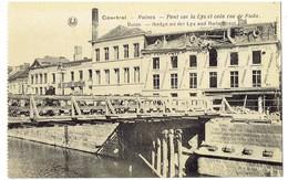 COURTRAI - Ruines - Pont Sur La Lys Et Coin Rue De Buda - Kortrijk