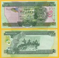 Solomon Islands 2 Dollars P-25 2011 UNC - Salomons