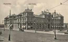 Uruguay, MONTEVIDEO, Hotel Pocitos (1914) Postcard - Uruguay