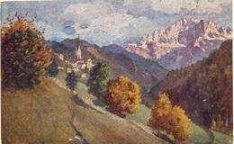 Pieve Di Livinallongo E Il Monte Civetta In Tricomia - Italia