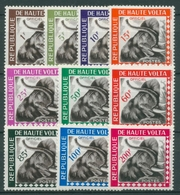 Obervolta 1963 Afrikanischer Elefant Dienstmarken 1/10 Postfrisch - Obervolta (1958-1984)