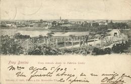 Uruguay, FRAY BENTOS, Vista Tomada Desde La Fábrica Liebig (1902) Postcard - Uruguay