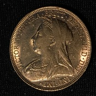 GREAT BRITAIN - Sovereign 1896 - Victoria - Gold - 1816-1901 : 19th C. Minting