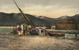 Venezuela, PUERTO CABELLO, Pescadores, Fishermen (1910s) Postcard - Venezuela