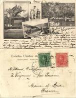Venezuela, CARACAS, Puente De Hierro, Estatua De Bolivar (1903) Postcard - Venezuela