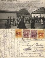 Bolivia, SANTA CRUZ, La Banda Del Batallón 6°, Military Music Band 1912 Postcard - Bolivia