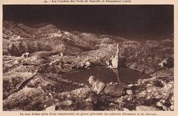 CPA Les Combats Des Forts De Souville Et Douaumont - Le Trou D'obus Plein D'eau Empoisonnée  (36846) - Douaumont
