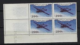 """FR Coins Datés Aerien YT 31 """" Noratlas """" Neuf** Du 25.5.54 - Dated Corners"""